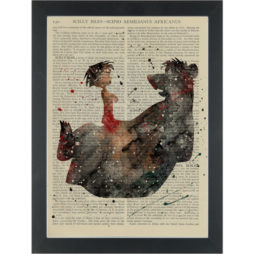 The Jungle Book Dictionary Art Print